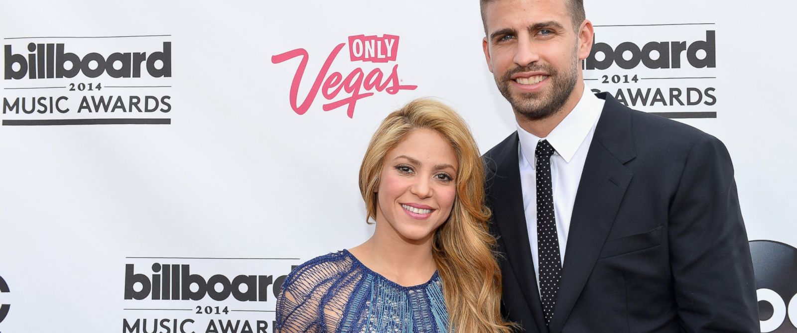 PHOTO: Shakira and Gerard Pique attend the 2014 Billboard Music Awards on May 18, 2014 in Las Vegas.