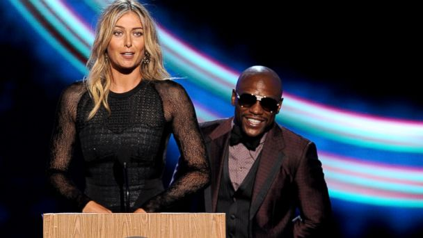 GTY sharapova mayweather jef 140717 16x9 608 2014 ESPY Awards: 5 Top Moments