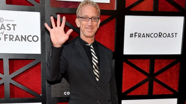 PHOTO: Andy Dick arrive at the Comedy Central Roast of James Franco at Culver Studios in Culver City