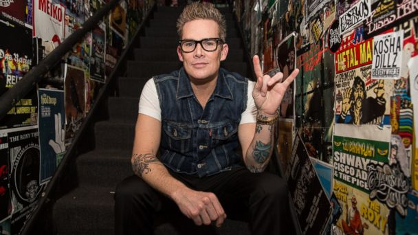PHOTO: Mark McGrath poses backstage for a photo backstage at The Roxy Theatre in West Hollywood
