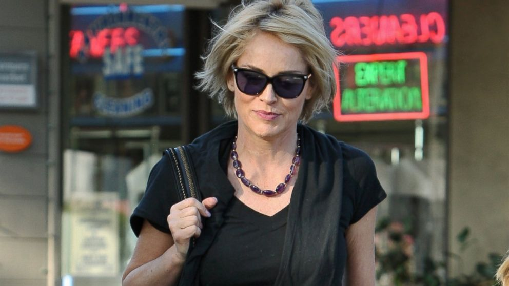 PHOTO: Sharon Stone is seen, Jan. 08, 2014 in Los Angeles.