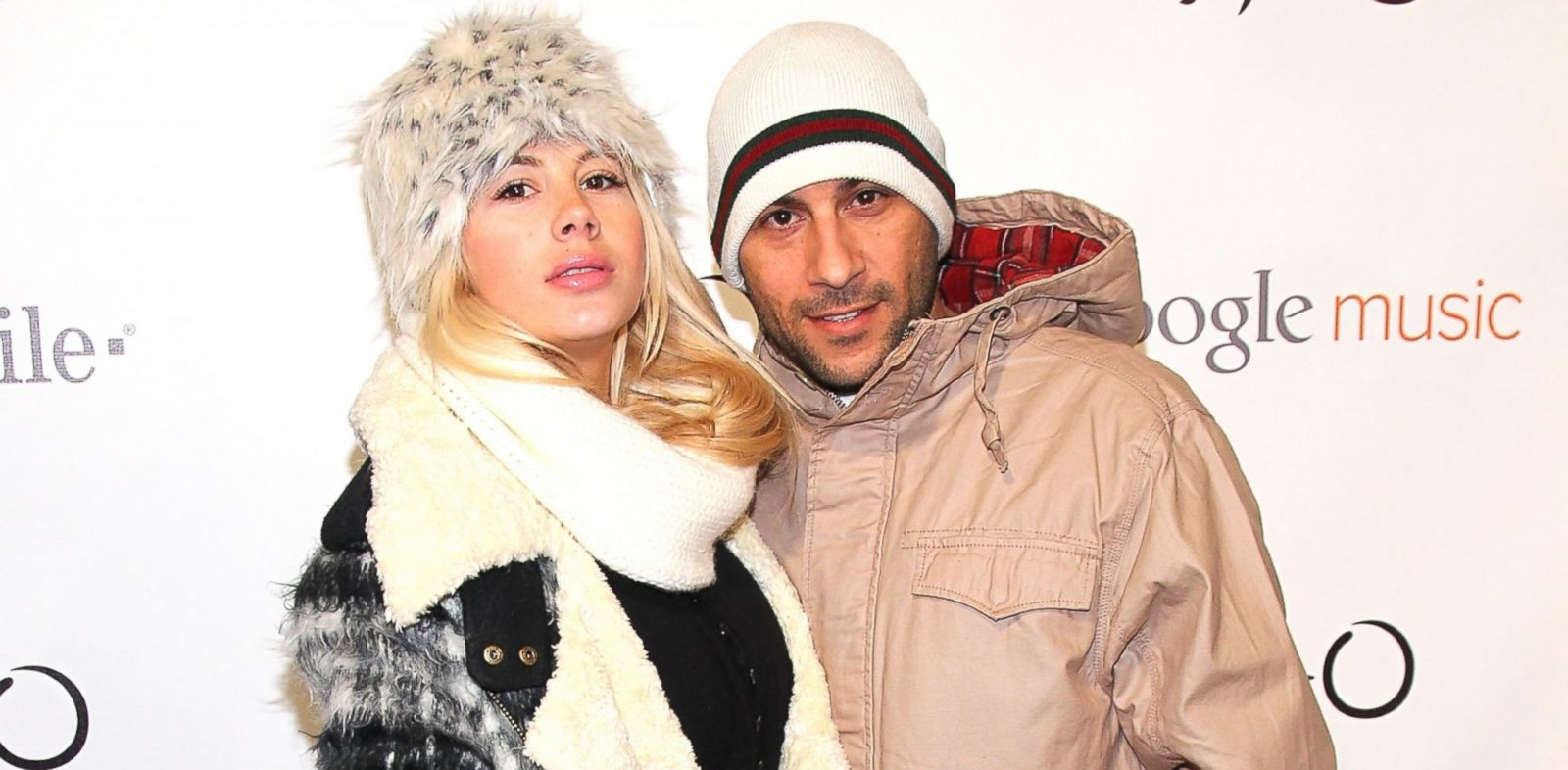 PHOTO: Actress Shayne Lamas, left and blogger Nik Richie attend the T-Mobile Presents Google Music at TAO, an exclusive four-night concert series, Jan. 23, 2012 in Park City, Utah.