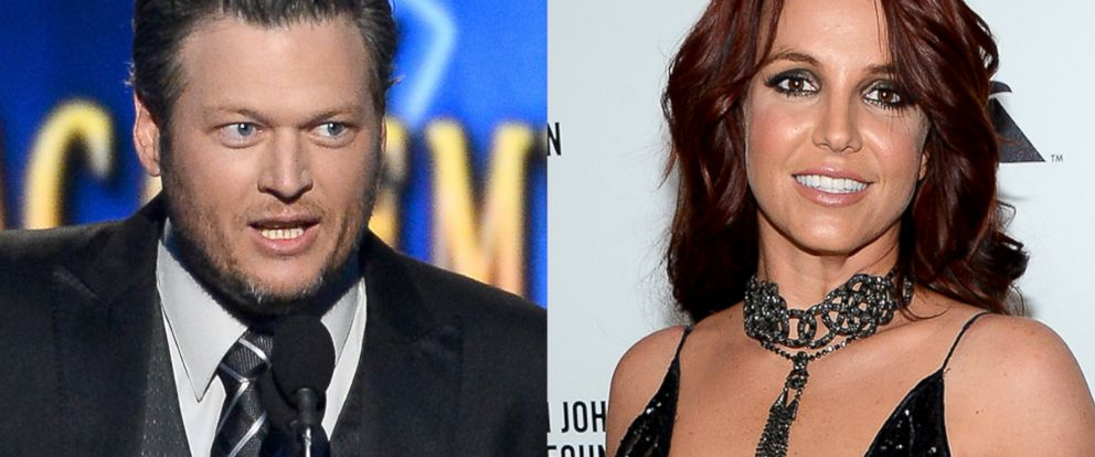 PHOTO: Blake Shelton and Britney Spears