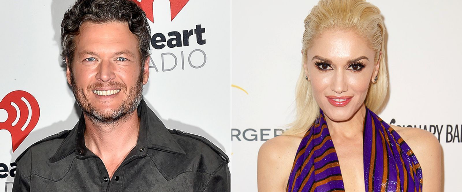 PHOTO: Blake Shelton, left, and Gwen Stefani.