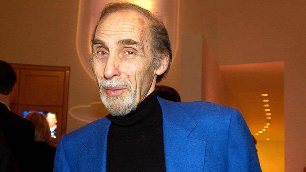 PHOTO: Sid Caesar attends a surprise 70th birthday party for television talk show host Larry King at the Museum of Television and Radio in Beverly Hills, Calif., Nov. 19, 2003.