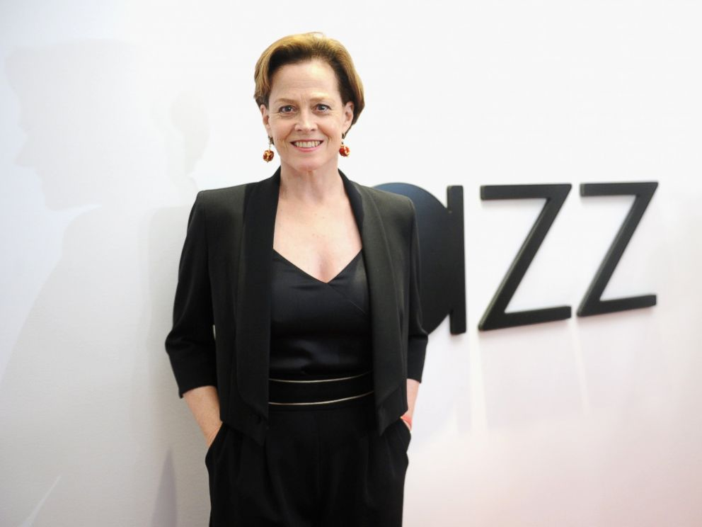 PHOTO: Sigourney Weaver attends the opening of the Mica and Ahmet Ertegun Atrium at Jazz at Lincoln Center, Dec. 17, 2015 in New York.