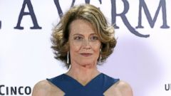 Sigourney Weaver Attends a Photo Call in Madrid