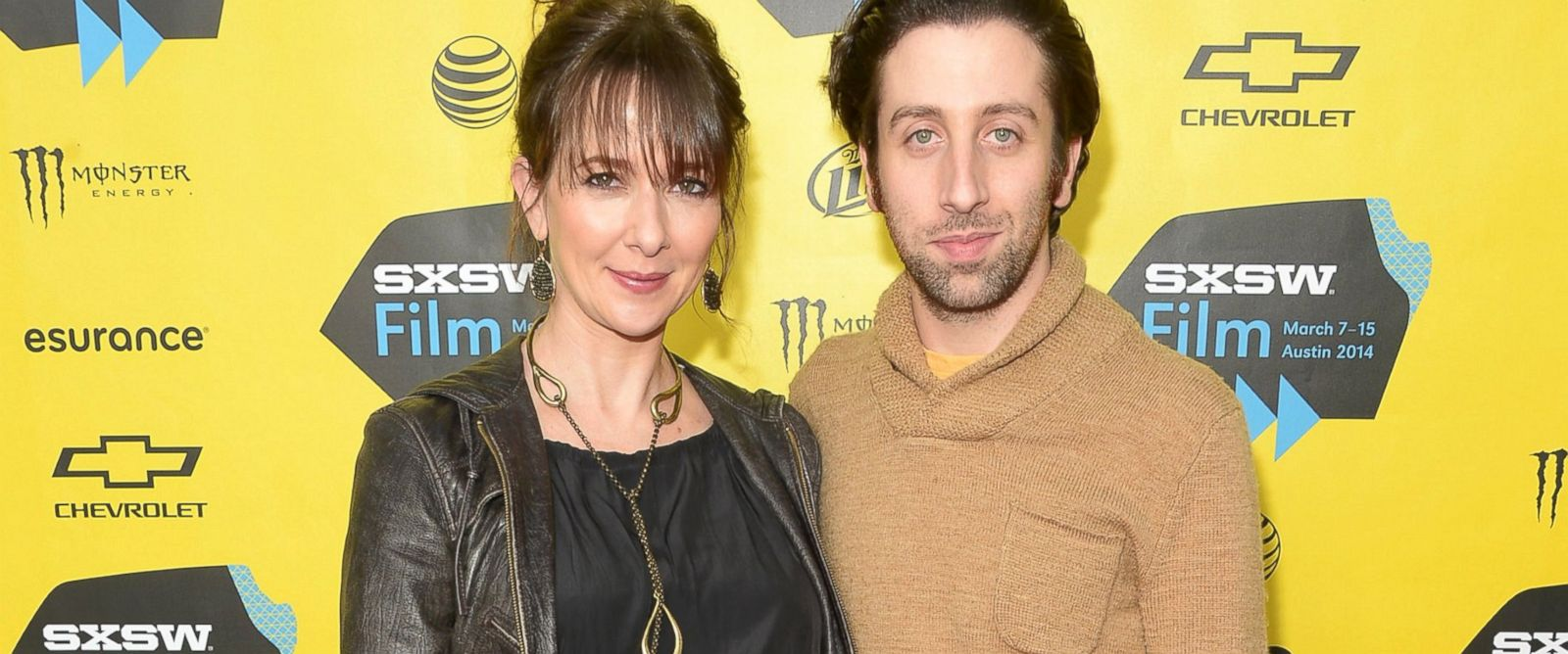 "PHOTO: Jocelyn Towne and Simon Helberg attend the ""Well Never Have Paris"" premiere during the 2014 SXSW Music, Film + Interactive Festival at the Topfer Theatre at ZACH, March 10, 2014, in Austin, Texas."