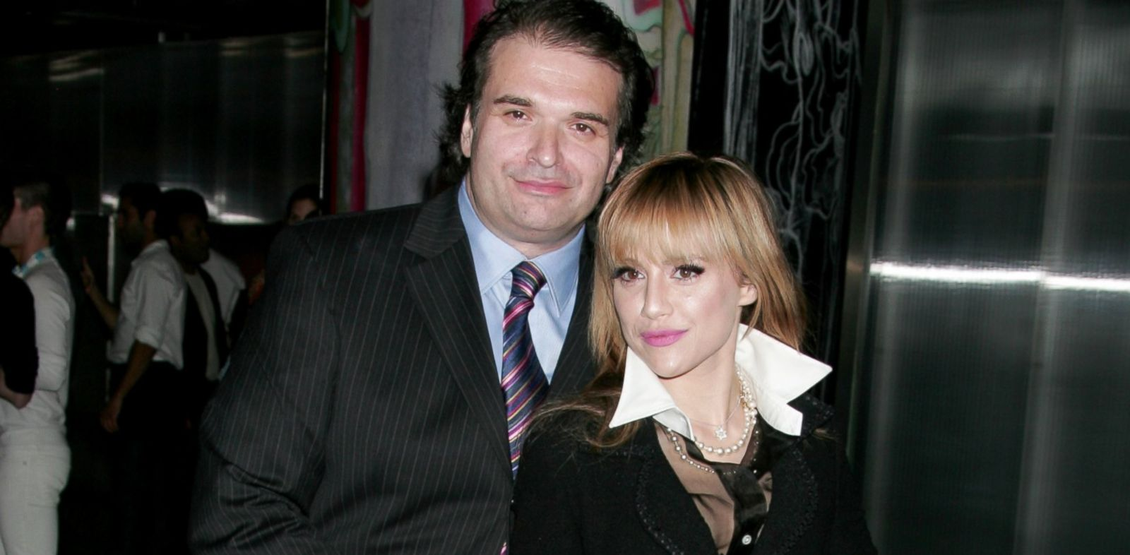 PHOTO: Brittany Murphy and husband Simon Monjack attend the screening of Trembled Blossoms at Prada Beverly Hills Epicenter, March 19, 2008, in Beverly Hills, Calif.