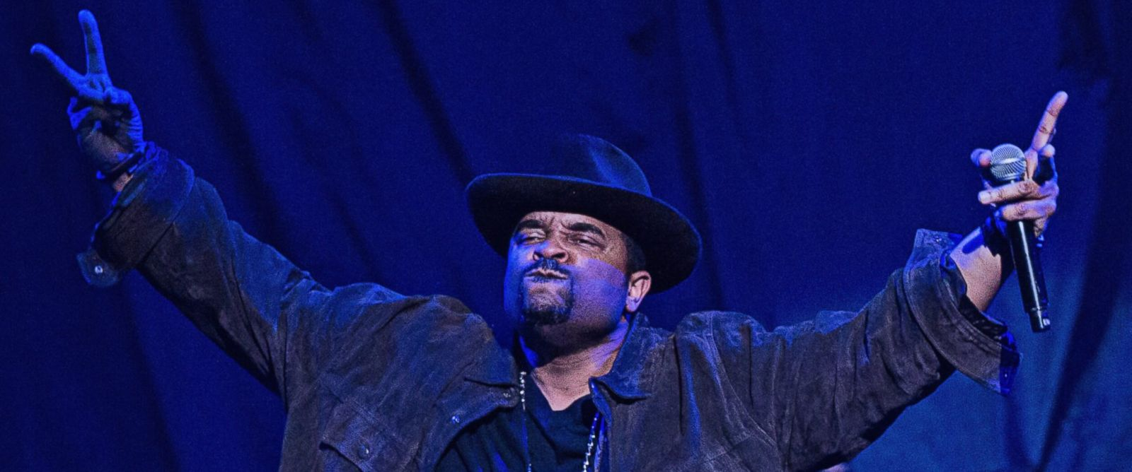 PHOTO: Sir Mix-a-Lot performs on stage at Key Arena on Dec. 11, 2013 in Seattle.