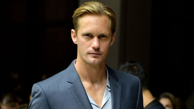 PHOTO: Alexander Skarsgard attends Mercedes-Benz Fashion Week Spring 2014 on Sept. 12, 2013 in New York.