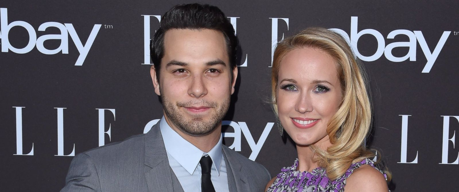 PHOTO: Actors Skylar Astin and Anna Camp arrive at the 6th Annual ELLE Women In Music Celebration Presented by eBay, May 20, 2015 in Hollywood, Calif.