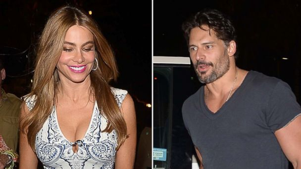 PHOTO: Sofia Vergara and Joe Manganiello are seen at Makoto at Bal Harbour shops, July 26, 2014, in Miami.