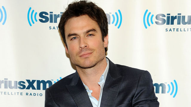 PHOTO: Ian Somerhalder poses at SiriusXM Studios in New York, Sept. 23, 2013.