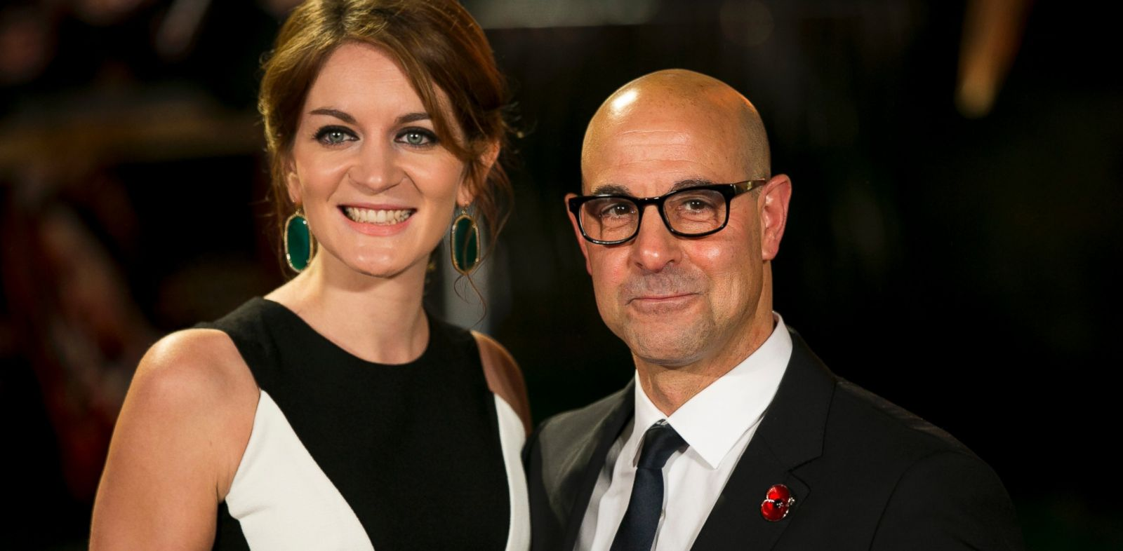 PHOTO: Stanley Tucci and his wife Felicity Blunt