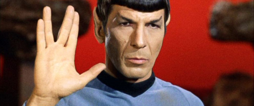 "PHOTO:Leonard Nimoy as Mr. Spock in ""Star Trek: The Original Series"" episode Amok Time, 1967."
