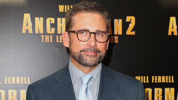 "PHOTO: Steve Carell arrives at the ""Anchorman 2: The Legend Continues"" Australian premiere at the Entertainment Quarter on Nov. 24, 2013 in Sydney, Australia."