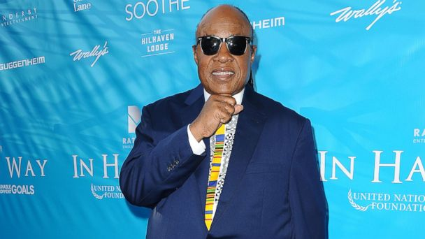 PHOTO: Stevie Wonder attends a special event for UN Secretary-General Ban Ki-moon, Aug. 10, 2016, in Los Angeles.
