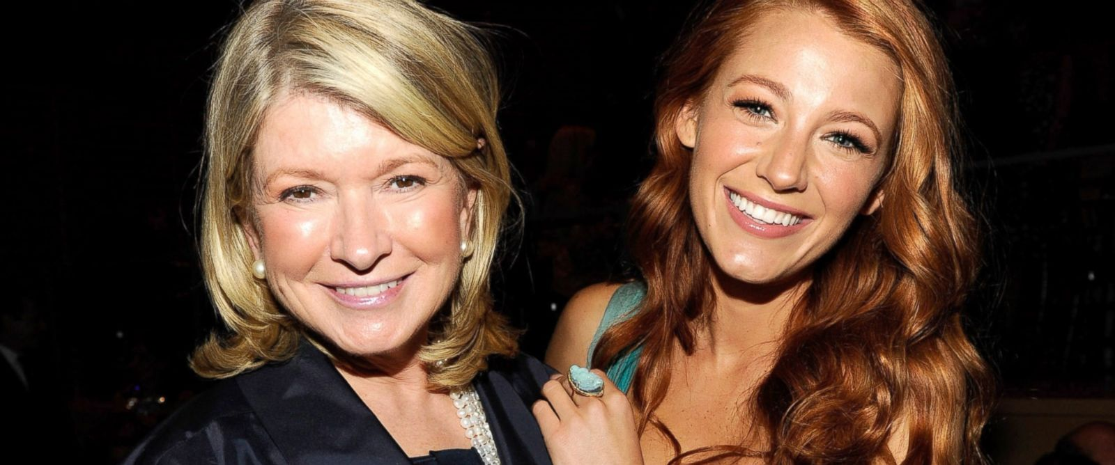 PHOTO: Martha Stewart and Blake Lively attend the TIME 100 Gala, TIMES 100 Most Influential People In The World at Frederick P. Rose Hall, Jazz at Lincoln Center, April 26, 2011, in New York City.