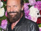 Sting Debuts a Bushy Beard