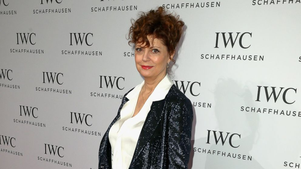 PHOTO: In this file photo, Susan Sarandon is pictured on Jan. 21, 2014 in Geneva, Switzerland.