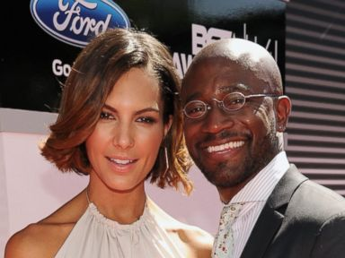 Taye Diggs Makes Red Carpet Debut With New Girlfriend Amanza Smith Brown