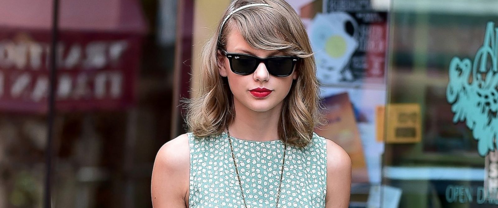 PHOTO: Taylor Swift is seen in the East Village, July 22, 2014, in New York City.