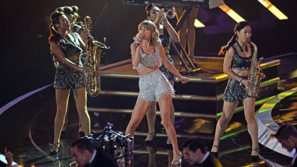 GTY taylor swift jef 140824 16x9 608 Beyonce, Taylor Swift, Miley Cyrus: 5 Most Talked About Moments from the VMAs