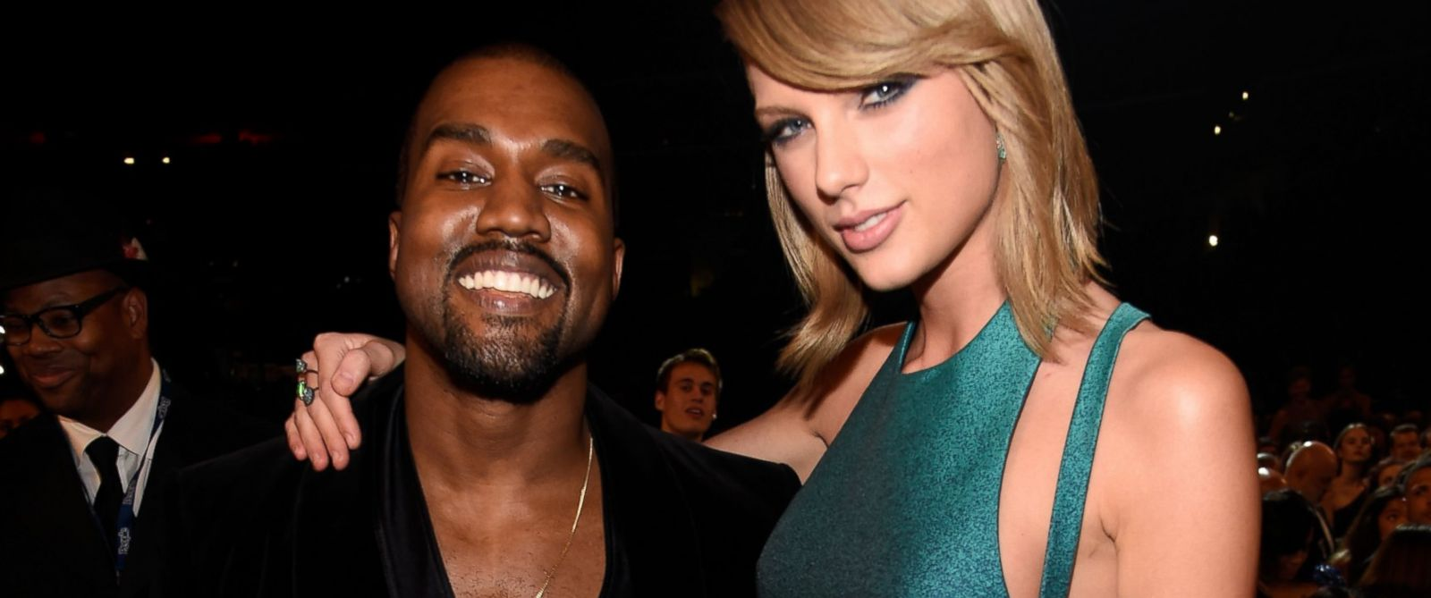 PHOTO: Kanye West and Taylor Swift attend The 57th Annual GRAMMY Awards at STAPLES Center, Feb. 8, 2015, in Los Angeles.