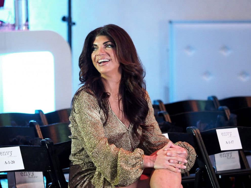 PHOTO: Teresa Giudice attends the envy By Melissa Gorga Fashion Show, March 30, 2016, in Hawthorne, New Jersey.