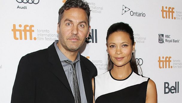 GTY thandie newton ol parker jef 130909 23x13 608 Thandie Newton Pregnant with Third Child