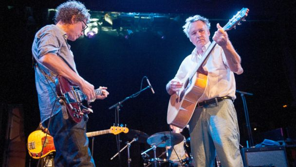 PHOTO: Gary Louris and Mark Olson of The Jayhawks perform on stage at Sala Apolo, Sept. 25, 2012, in Barcelona.