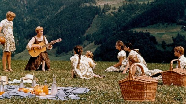 "PHOTO: Julie Andrews performs in the movie ""The Sound Of Music."""