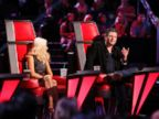 PHOTO: The Voice hosts Christina Aguilera and Blake Shelton.