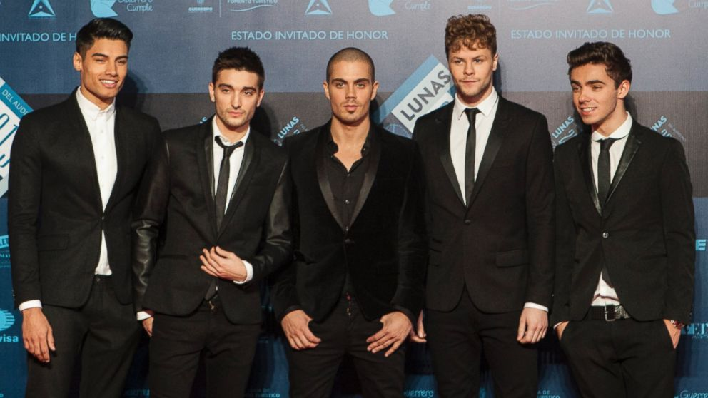PHOTO: British band The Wanted pose for a picture during the red carpet of Lunas del Auditorio awarding ceremony, Oct. 30, 2013 in Mexico City, Mexico.