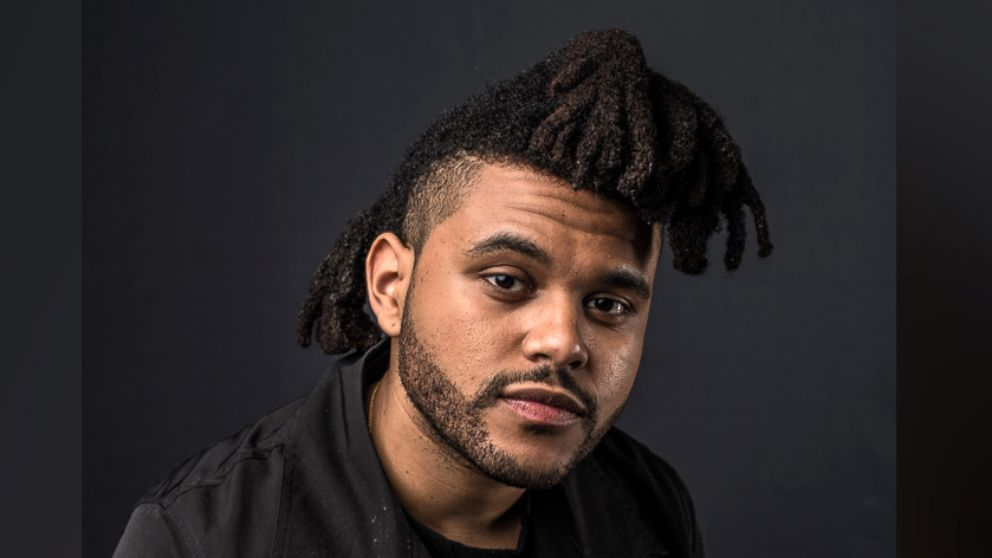 Brilliant The Weeknd Shows Off New Hair And New Song Abc News Short Hairstyles Gunalazisus