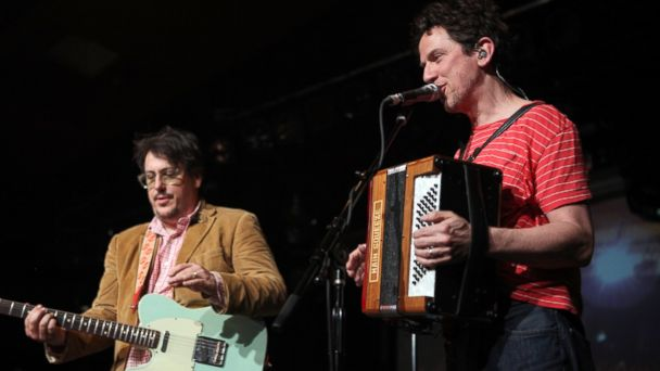 PHOTO: John Flansburgh (L) and John Linnell of They Might Be Giants perform during a concert at Astra, Nov. 23, 2013, in Berlin.