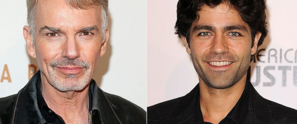 PHOTO: Billy Bob Thornton, left, is pictured on April 9, 2014 in New York City. Adrian Grenier, right, is pictured on Feb. 27, 2014 in West Hollywood, Calif.