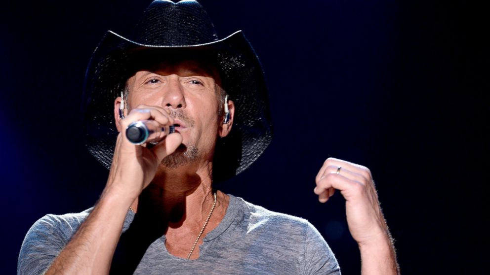 PHOTO: Tim McGraw performs onstage at the 2014 CMA Festival, June 5, 2014 in Nashville, Tennessee.