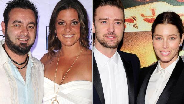GTY timberlake kirkpatrick split jtm 13115 16x9 608 Whose Wedding Was It: Justin Timberlake or Chris Kirkpatrick?