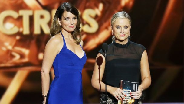 GTY tina fey amy poehler 181675669 jt 131015 16x9 608 Tina Fey and Amy Poehler Back as Golden Globe Hosts