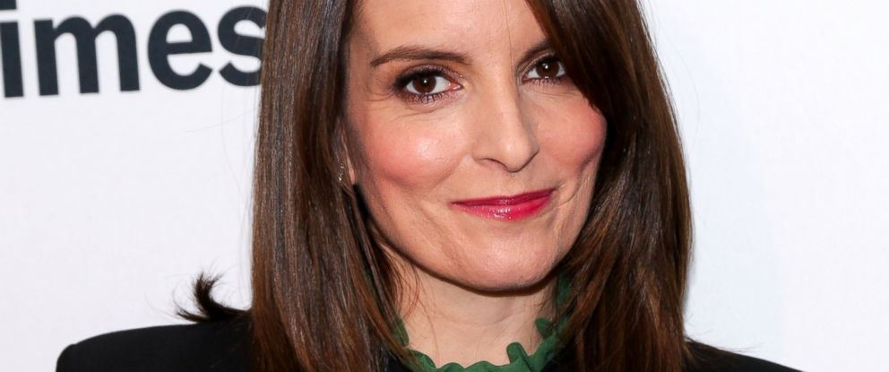 """PHOTO: Tina Fey attends TimesTalks presents """"Whiskey Tango Foxtrot"""" held at Florence Gould Hall, March 2, 2016, in New York City."""