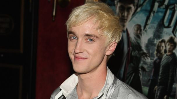 "PHOTO: Tom Felton attends the ""Harry Potter and the Half-Blood Prince"" premiere at Ziegfeld Theatre, July 2009, in New York City."