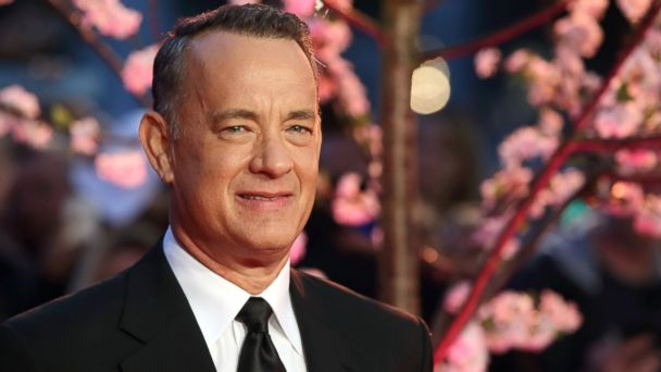 GTY tom hanks sk 131024 16x9 608 Tom Hanks Meets Thrilled Autistic Fan
