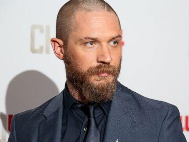 Tom Hardy Reveals a New, Bearded Look