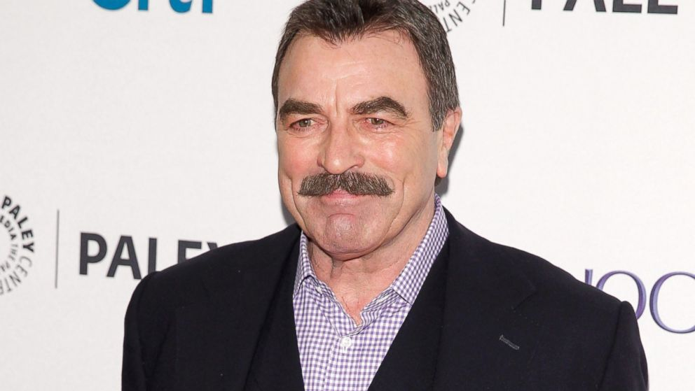 Tom Selleck 2014 PHOTO Tom Selleck arrives at