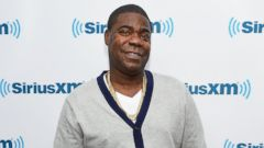 PHOTO: Actor/comedian Tracy Morgan visits SiriusXM Studios on May 5, 2014 in New York City.
