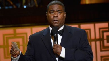 PHOTO: Comedian Tracy Morgan speaks onstage at Spike TVs Don Rickles: One Night Only, in this file photo, May 6, 2014 in New York.