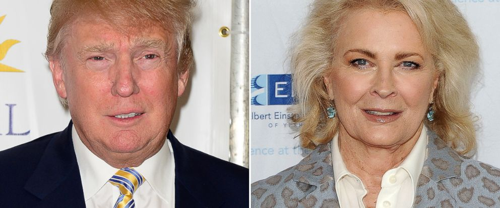 PHOTO: Donald Trump, left, and Candace Bergen dated in college.
