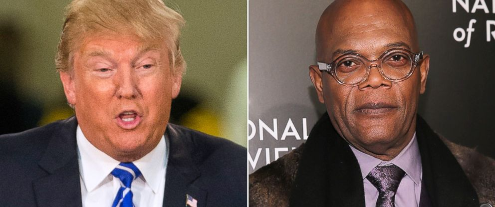 PHOTO: Donald Trump, left, and Samuel L. Jackson.